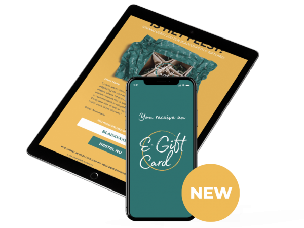 E-Gift Card - Bladconfetti
